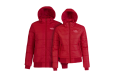 Hooded Solid Padded Jacket B&C