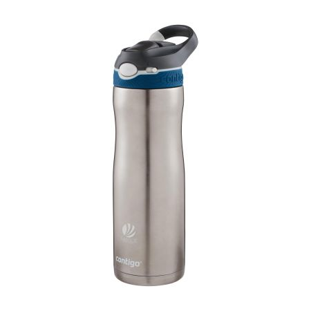 A gray contigo brand sports gourd to personalize with your own logo on Helloprint