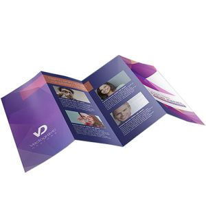 Menucards zfold - 8 pages personalisation