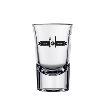 Shot glass (5cl) with your printed logo at Helloprint.