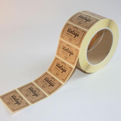 etiquetas adhesivas de cartulina en rollo