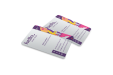 Cartes de visite en plastique transparent (PVC)