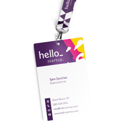 Cheap PVC cards with circular punch hole from Helloprint. Learn more about our printed products and order print online.