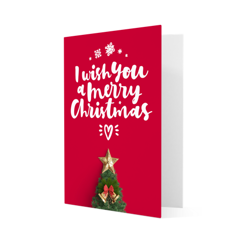 christmas cards personalised with your own design helloprint - Christmas Card Design
