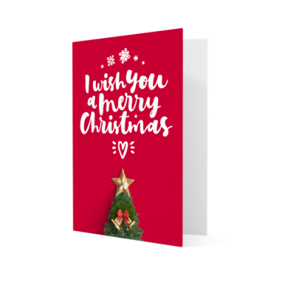 Christmas cards personalised with your own design helloprint christmas cards m4hsunfo