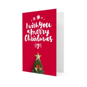 Matt Christmas cards personalisation