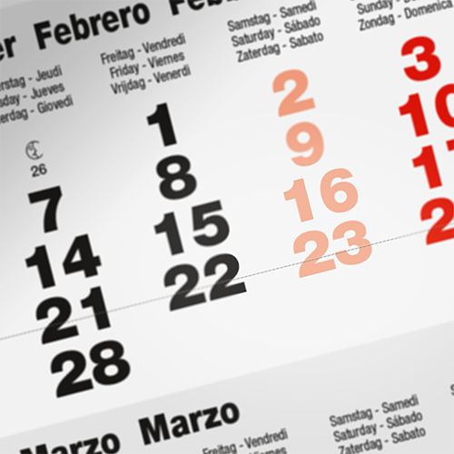 Have your own personalized calendars by ordering at Helloprint and make sure you won't forget any important events