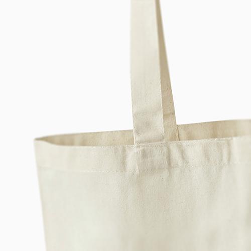 Een katoenen tas met lang hengsel, bedruk hem bij Helloprint.