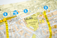A map icon of Ealing used to indicate that Helloprint offers printing solutions in Ealing