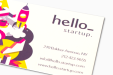 Cheap Standard Business Card Printing all over the UK | Free delivery and 100% satisfaction guarantee for all personalised business cards with Drukstart.nl