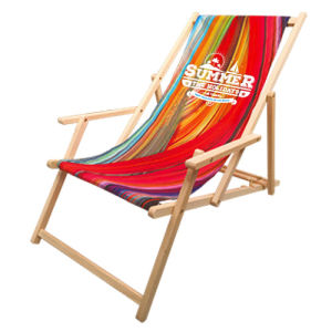 Deck Chairs with logo