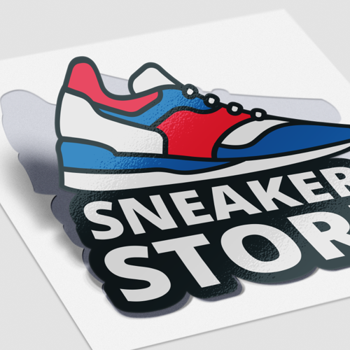 Clean cut stickers with UV-resistant coating in individual shape and size from Helloprint