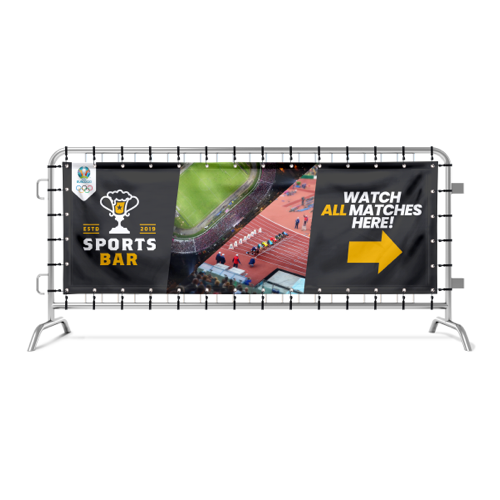 Fence banners for Sports events by Helloprint