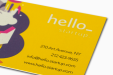 Cheap Laminated Business Card Printing all over the UK | Free delivery and 100% satisfaction guarantee for all personalised laminated business cards with Helloprint