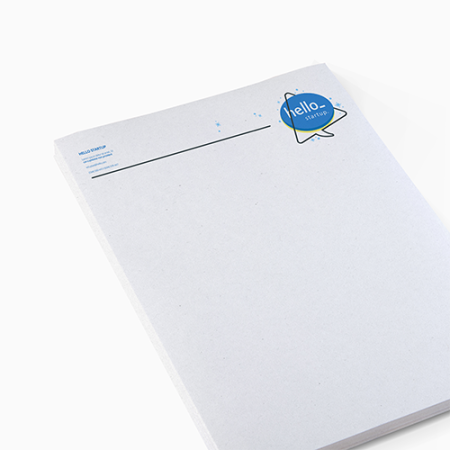 Cheap letterheads in recycled paper with Helloprint. Learn more about us and order print online.
