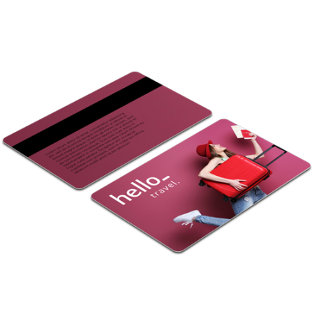 Cheap PVC cards with HiCo magnetic strip from Helloprint. Learn more about our products and easily order print online.