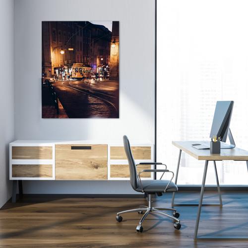 Poster facile à imprimer pour mettre de la couleur dans votre entreprise.