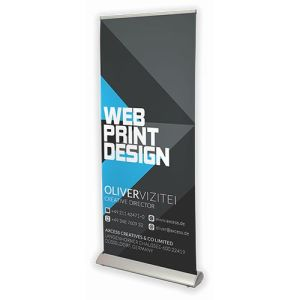 Deluxe roller banners design personalisation