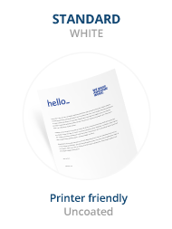 helloprint cheap letterhead printing from 25
