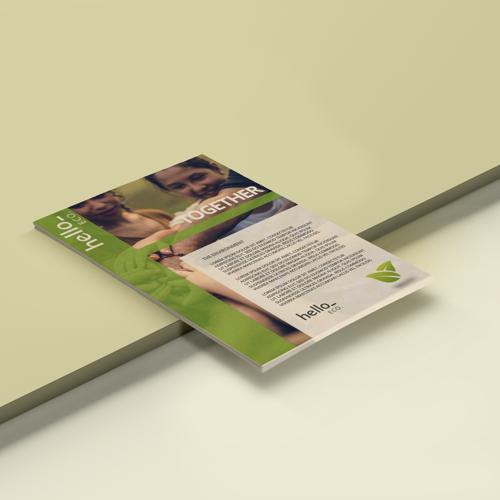 Ecologische flyers. Promotiemateriaal dat vriendelijk voor het milieu is Helloprint