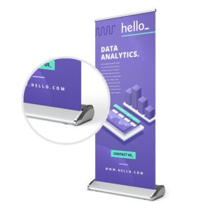 Deluxe Roll-Up Banner personalisierung