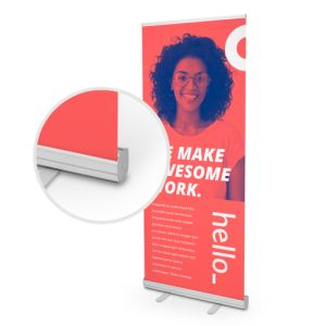 Economy Roller Banners personalisation