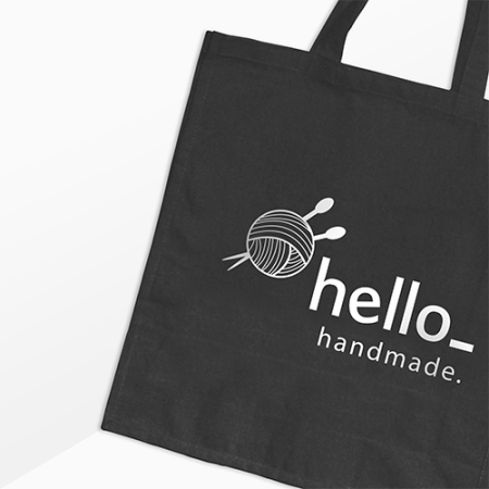 Cheap cotton bag with Helloprint. Learn more about our useful print products and order online.