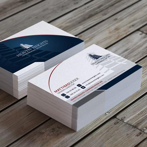 Visitekaartjes drukken en bestellen drukzo reheart Image collections
