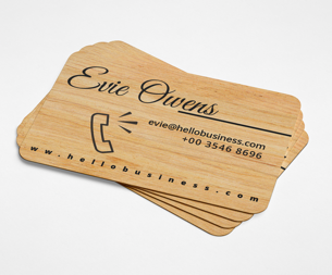 Business-card-Wood