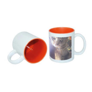 Print beautiful Two-Tone Mugs for your clients or co-workers