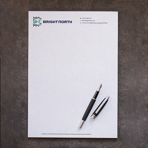 Helloprint cheap letterhead printing from 25 standing letterheads letterheads personalisation start ordering altavistaventures Images