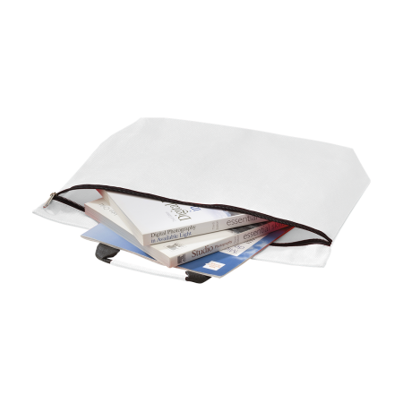 A high quality promotional document bag available to be printed at Helloprint with a custom logo or image.