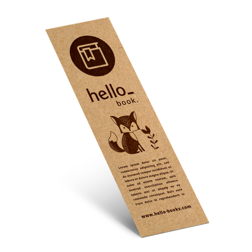 Eco Friendly Bookmarks