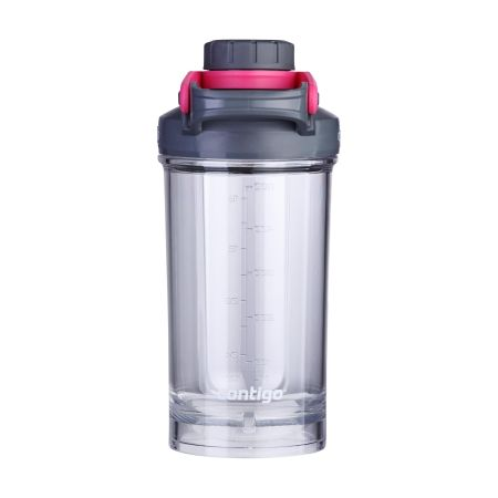 A large Contigo shake and go shaker bottle available to be printed with a custom logo or image at Helloprint.