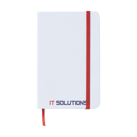Cheap white A5 & A6 notebook with Helloprint. Learn more about our printed notebook products and order print online.