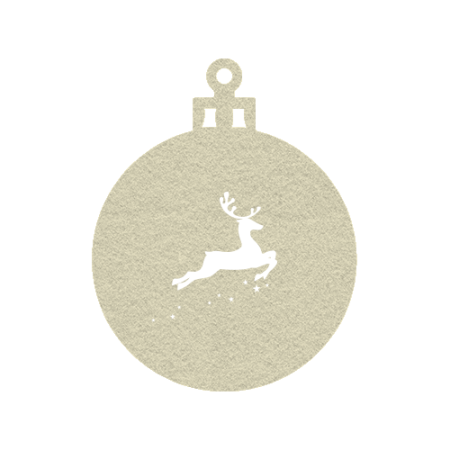 Cheap Christmas tree ornament which can be personalised with your own design or logo with Helloprint.