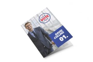 gepersonaliseerde Political Election Half fold leaflets