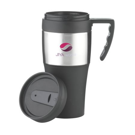 A product image of a thermos mug available to be printed with a personalised logo or image at Helloprint
