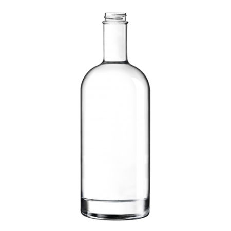 A 1 litre classic glass bottle available with custom printing options for a cheap price at Helloprint