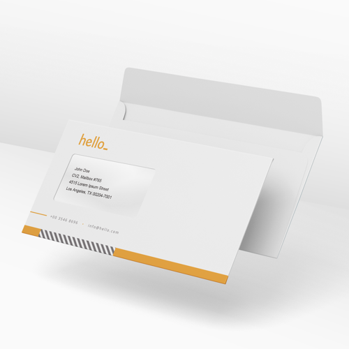 Image of 1.000 Envelopes Printed with your Logo