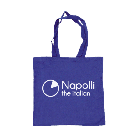 Print coloured cotton bags available at Helloprint with a custom logo or image printed on one or two sides
