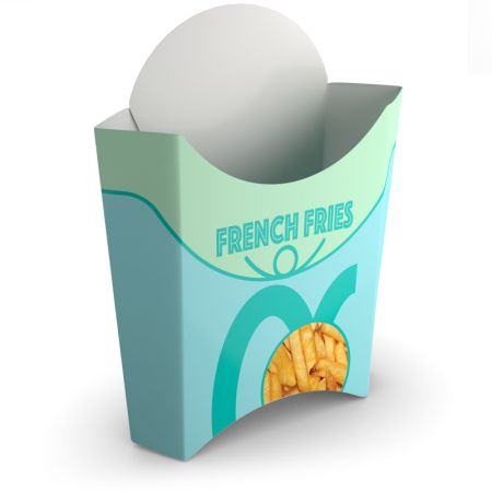 Cheap french fries box with Helloprint. Learn more about our food print products and easily order online.
