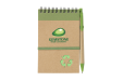 Carnet de notes Gemstone en papier recyclé personnalisable avec un logo Helloprint