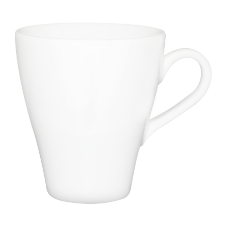 A white coloured Cappuccino mug available with custom printing solutions for cheap prices at Helloprint