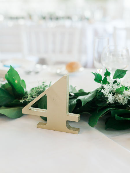 transform your tabletops with these creative table number ideas