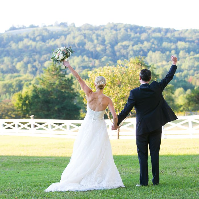 Who pays for what in a wedding weddingwire wedding couple cheering junglespirit Images