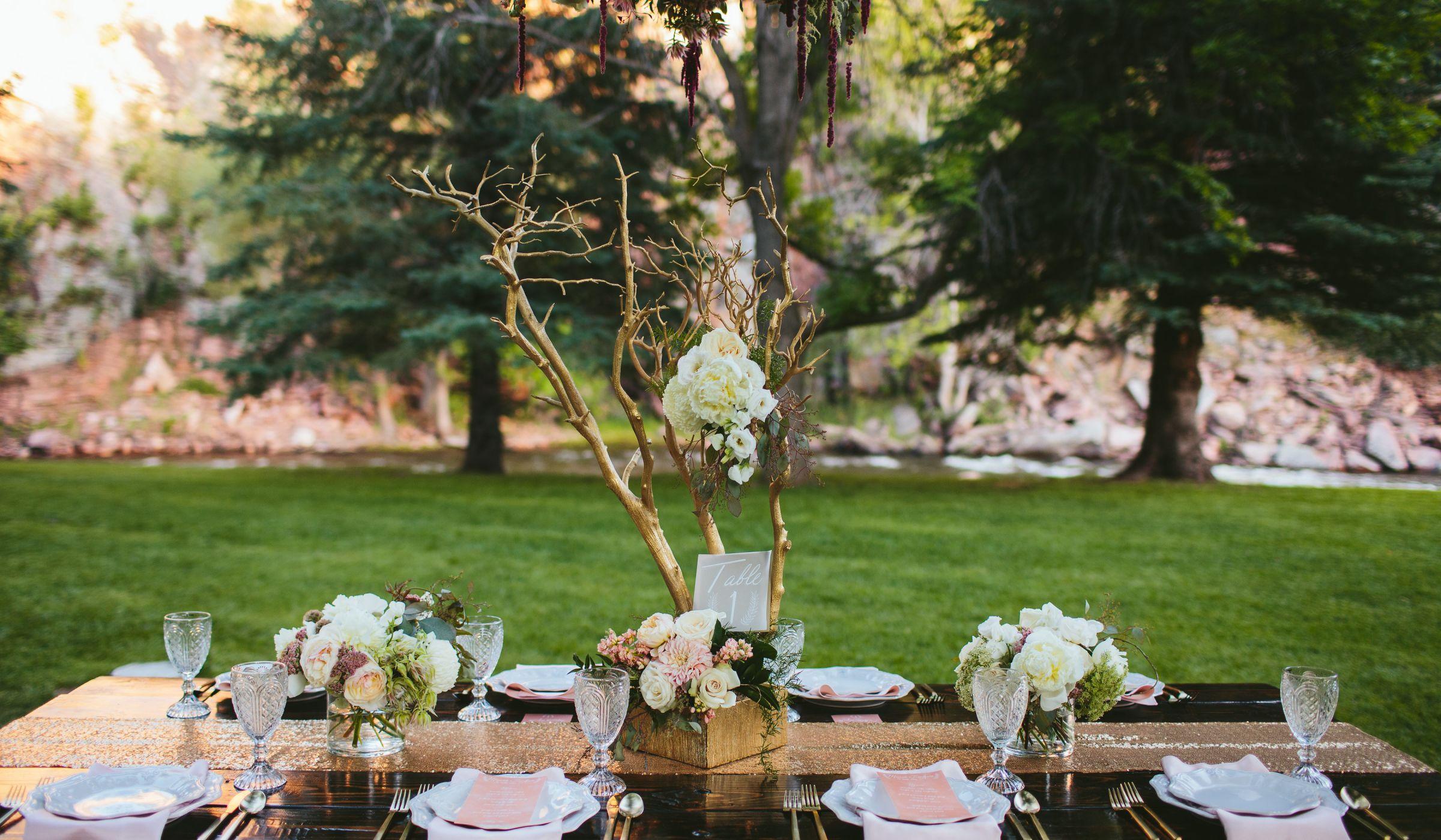 wedding shower ideas garden party