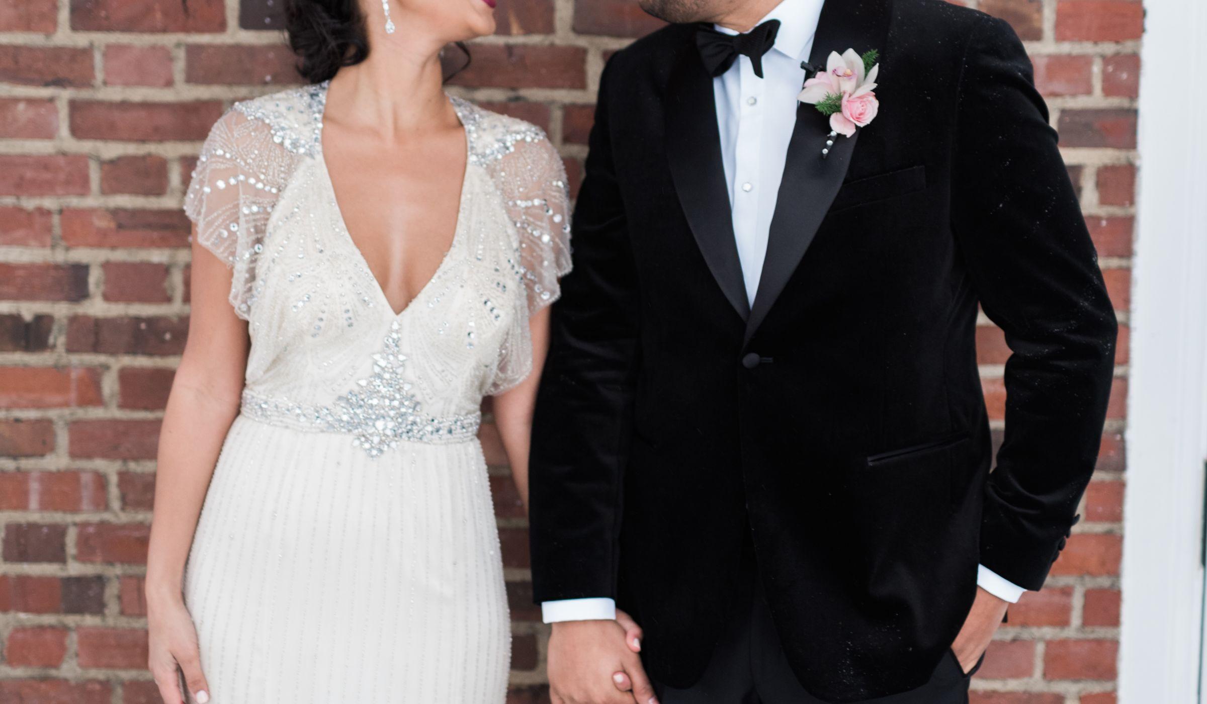Wedding website weddingwire glam wedding couple junglespirit Gallery