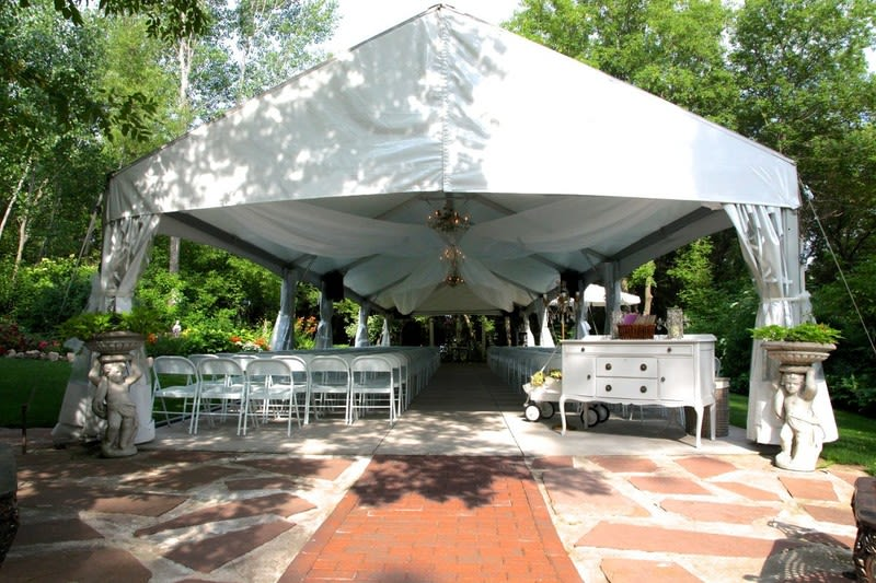 gazebo trellis 11 outdoor wedding venues twin cities couples will love weddingwire