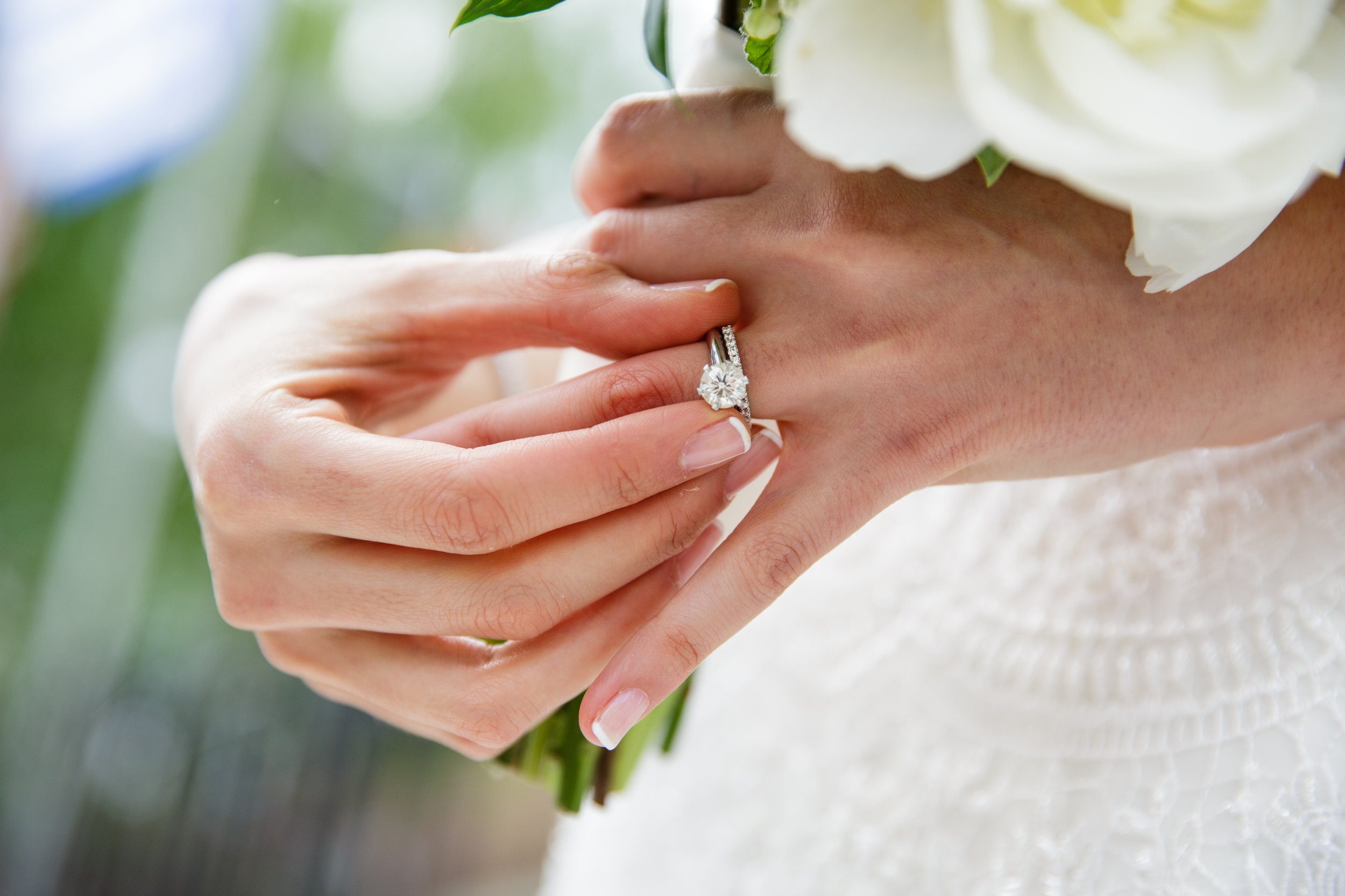 How to Clean an Engagement Ring at Home WeddingWire